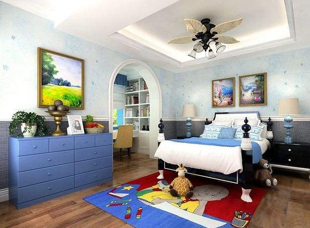 襄阳地中海儿童房装修
