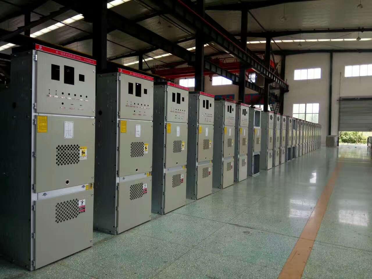 高壓開關柜電動機集中控制、電容補償之用