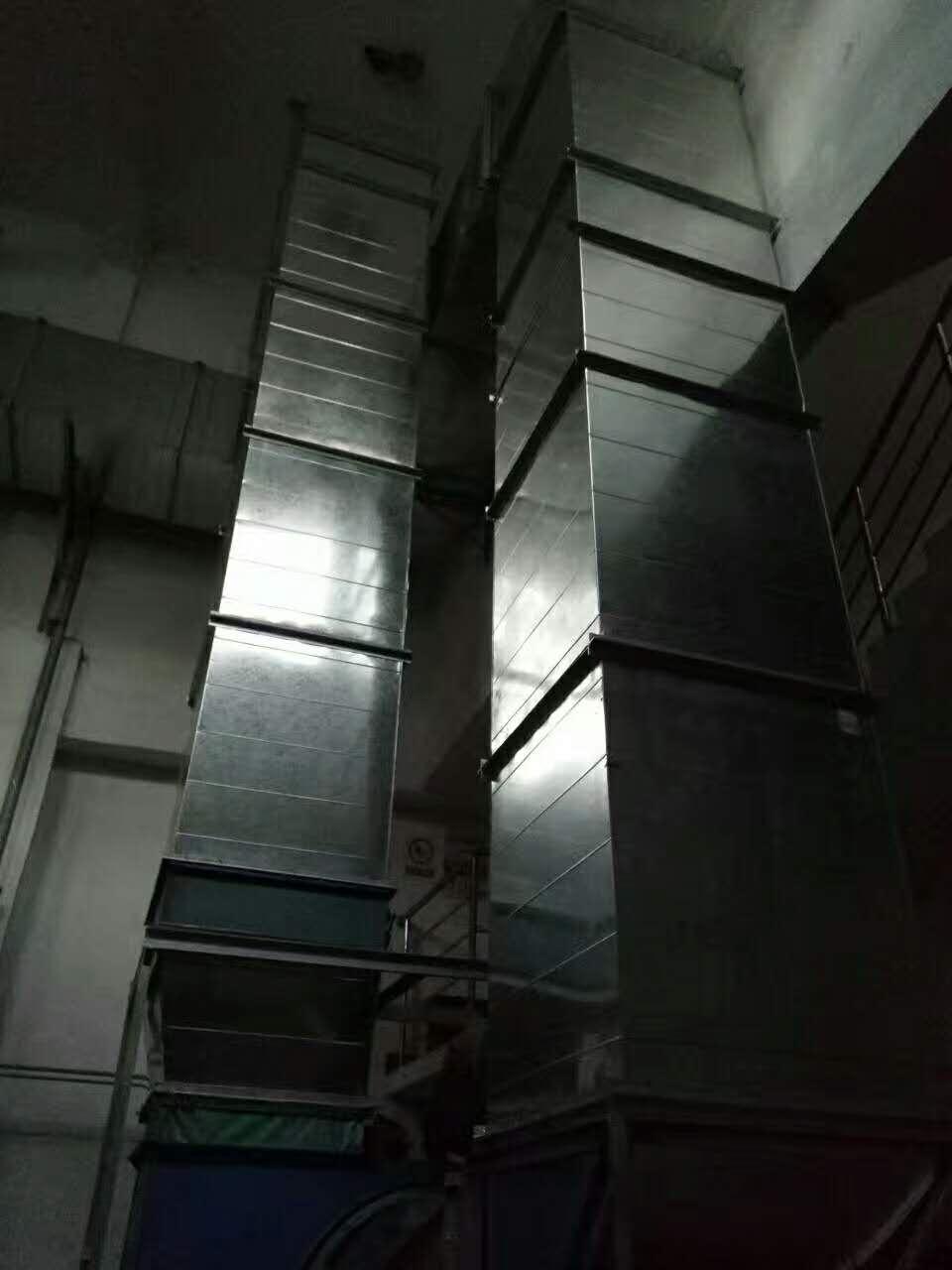 十堰通風管道工程施工中消聲器的安裝