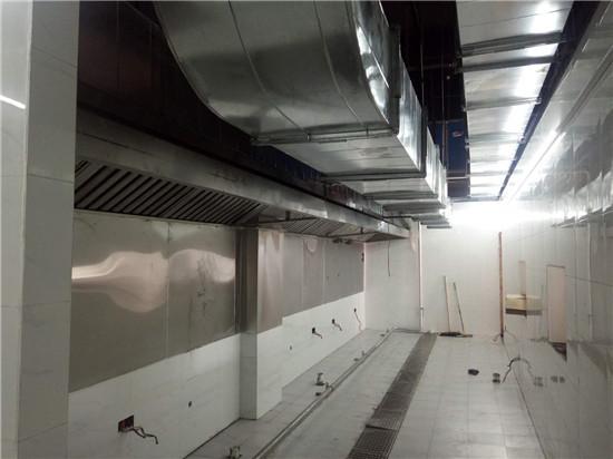 襄阳通风排烟管道厂家浅谈厨房排烟管道设计和安装不合理的原因