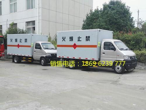 东风俊风后双轮1.2吨3米4国五液化气瓶运输车