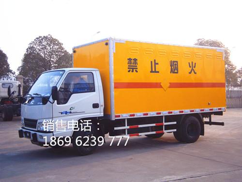江铃1.415吨4米2国五液化气钢瓶运输车