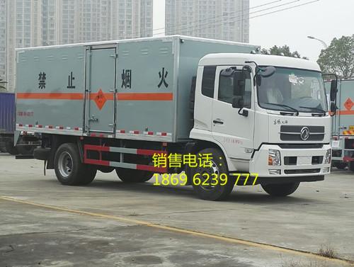 安徽赵总与湖北虹昌达陈功武再合作--购买3台东风天锦爆破器材运输车