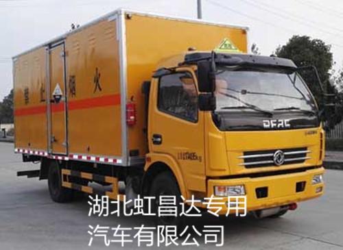 东风多利卡6.7吨5.15米6类危险品运输车