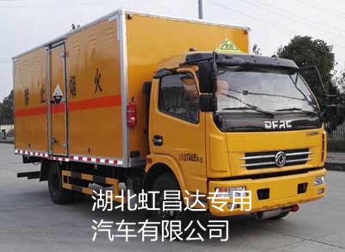 东风多利卡6.7吨5.15米八类危险品运输车