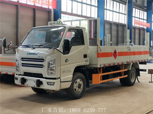 喜讯:江铃国六栏板气瓶运输车即将发车1台到湖南