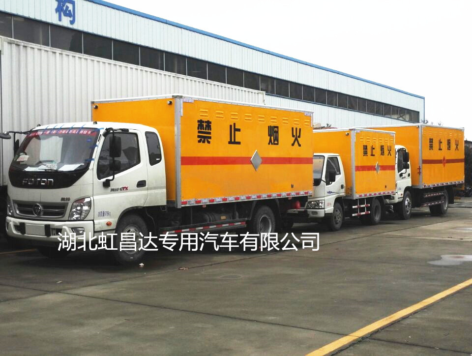 爆破器材运输车厂家普及爆破器材运输车办理运营证需要提供的手续