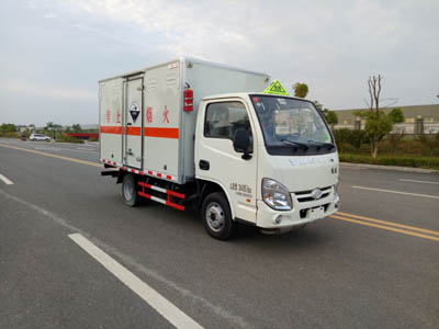 跃进小福星1.1185吨微型腐蚀性物品厢式运输车