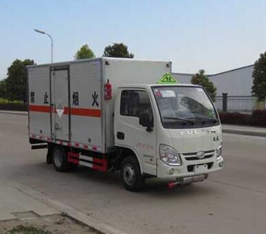 跃进小福星1.05吨3米3杂项危险物品厢式运输车