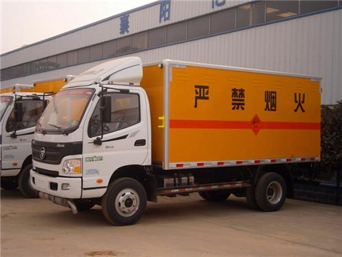 福田欧马可6.98吨国五炸药运输车