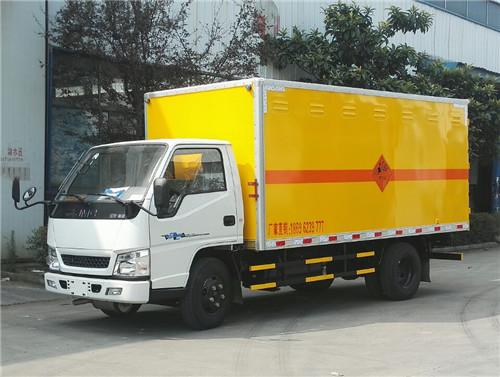 江铃新顺达2.6吨炸药运输车