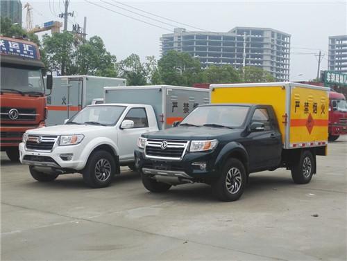 东风日产单排皮卡0.425吨国五民爆物品运输车