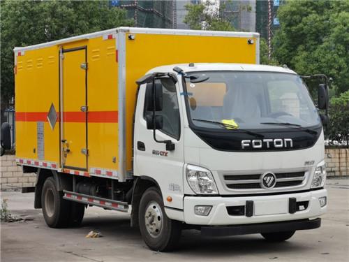 福田奥铃单排5.26吨5米1民用爆破车