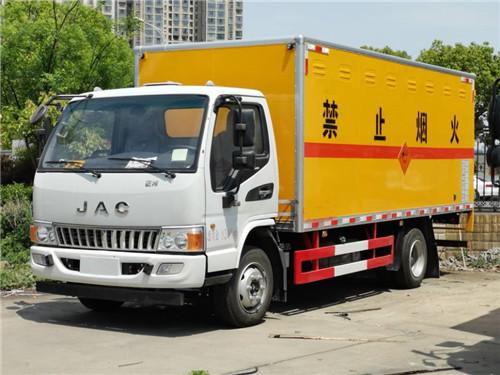江淮4.975吨5.15米爆炸品运输车