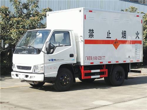 江铃1.41吨3米1国五爆炸物品运输车