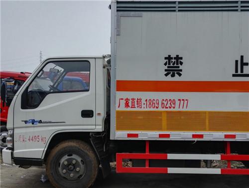 江铃2.8吨4米2国五液化气罐运输车