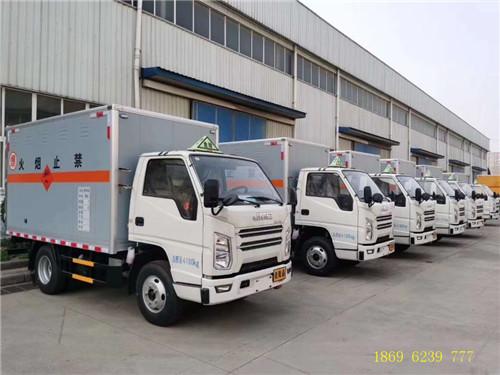 江铃顺达3吨国六爆破器材运输车继续稳居销量榜首