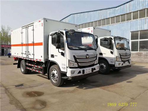 新闻:国六福田欧马可6.67吨爆破器材运输车不超重
