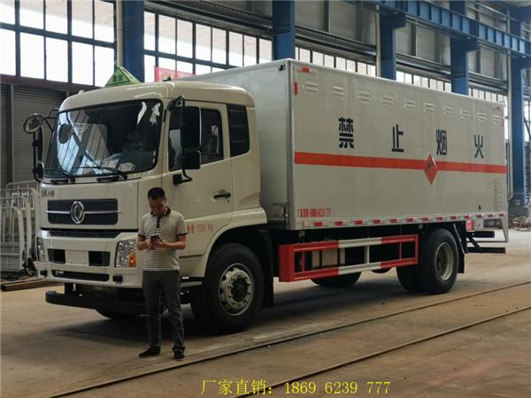 东风天锦10吨国六爆破器材运输车