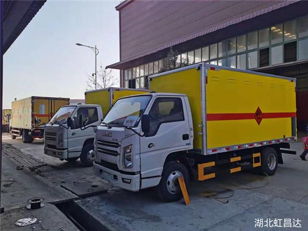實力說話---新疆江鈴爆破器材運輸車 自家工廠 價格實惠