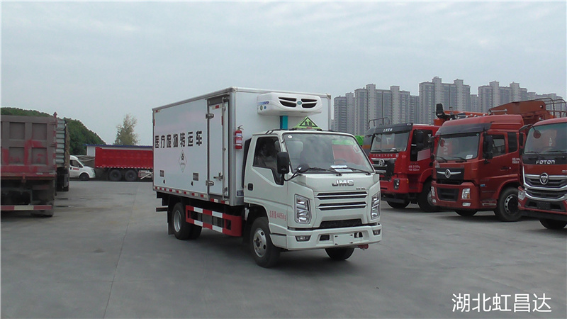 江铃1.105吨国六医疗废物转运车
