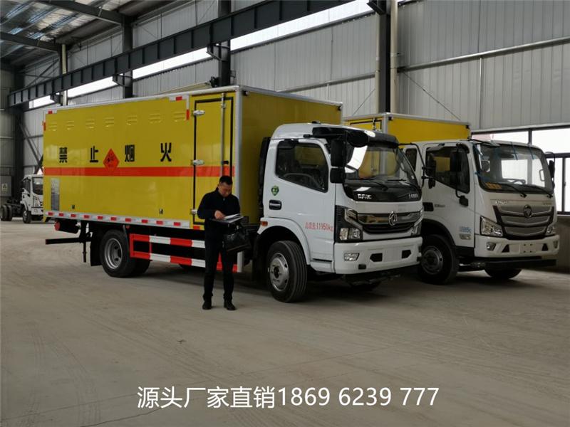 今日连发2台:江铃1.23吨和东风7吨国六爆破器材运输车