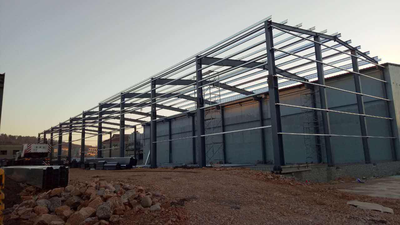施工安全靠大家,襄阳钢结构厂房施工需注意哪些质量问题