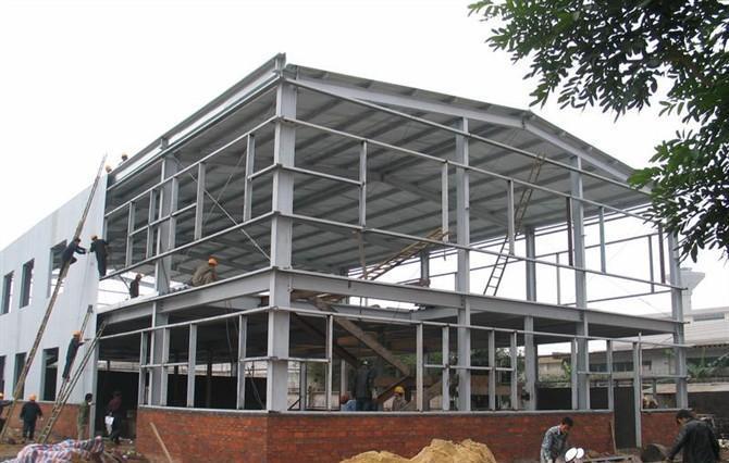 康步鞋业-钢结构厂房案例