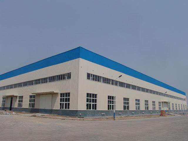 湖北飞源机电钢结构厂房