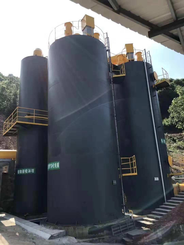 岳阳科兴防水材料烟气净化设备