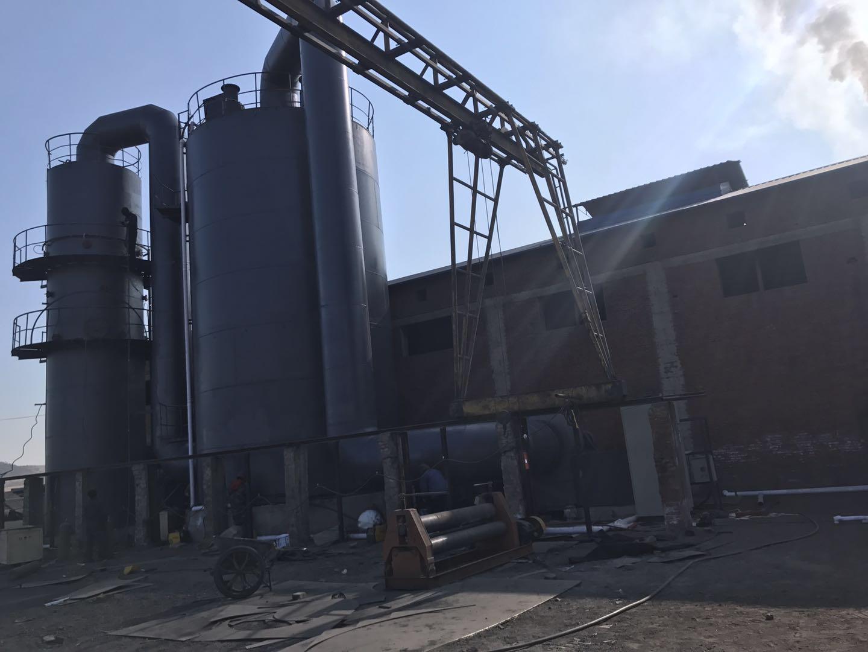 山东碳素厂沥青烟气净化