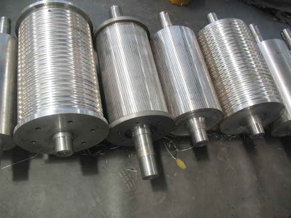 Complete set of rollers