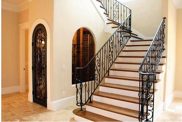 楼梯扶手铁艺