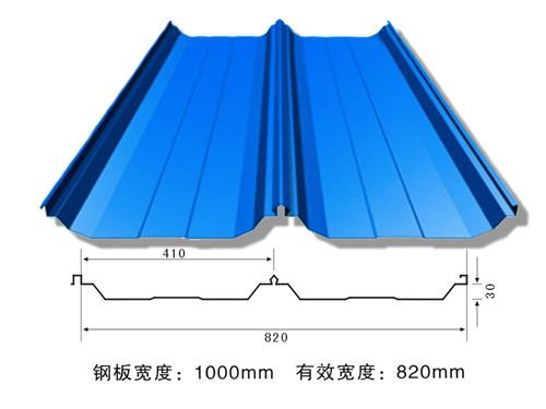 襄阳820型彩钢瓦