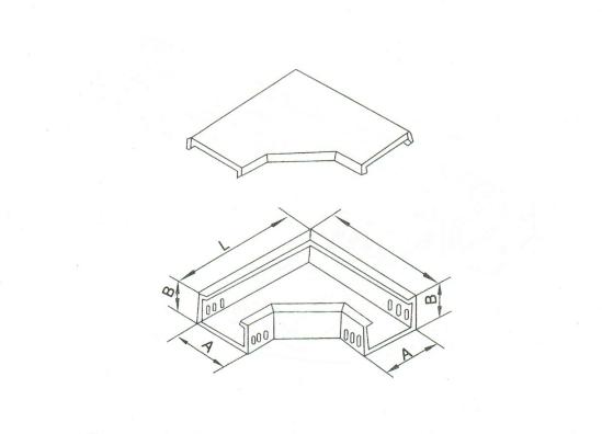 槽式水平彎通 XQJ-C-02A