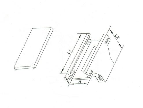 槽式上邊垂直三通 XQJ-C-03D