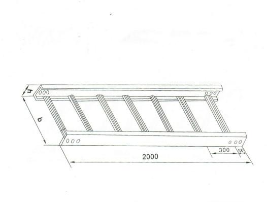 梯級式直通橋架 XQJ-T2-01