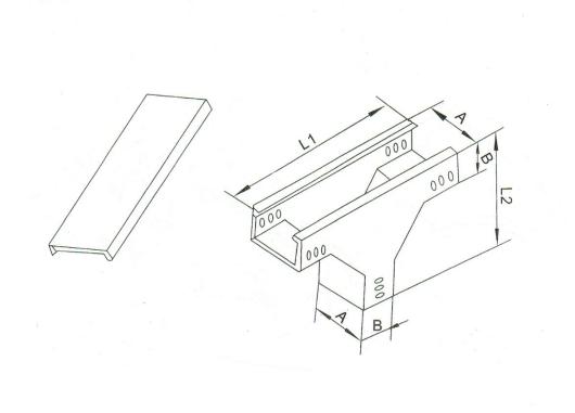 槽式上垂直三通 XQJ-C-03B