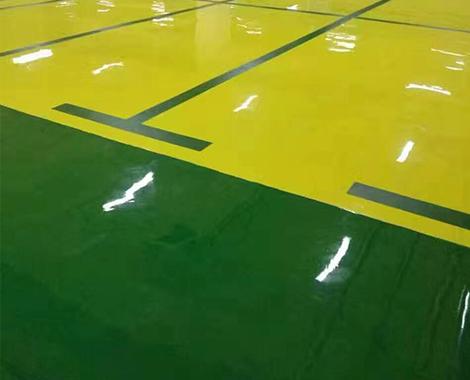 环氧地坪涂层效果好坏是漆膜性能的直接体现