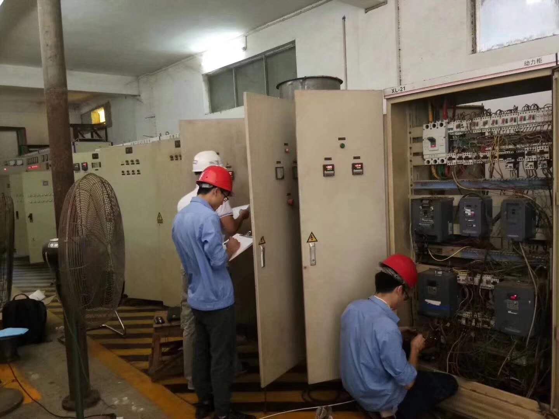 自动化设备现场施工