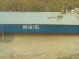 半挂车过磅用3x18米数字式100吨汽车衡