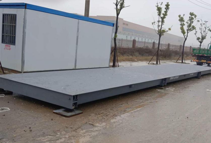 沙洋县永顺船务有限责任公司 安装3米×16米(120t)电子汽车衡