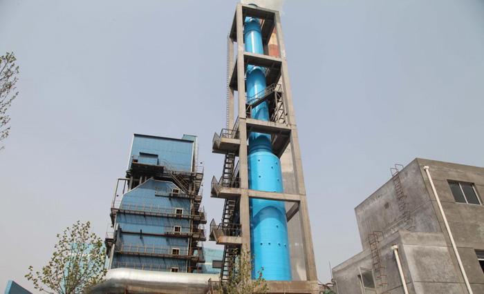 山西除尘脱硫塔厂家浅析脱硫塔浆液起泡溢流的预防措施