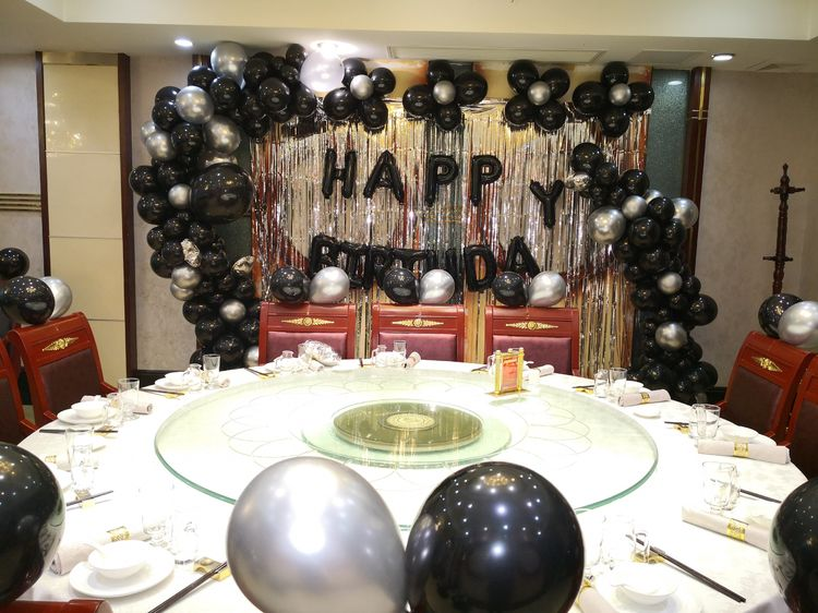 生日宴气球布置