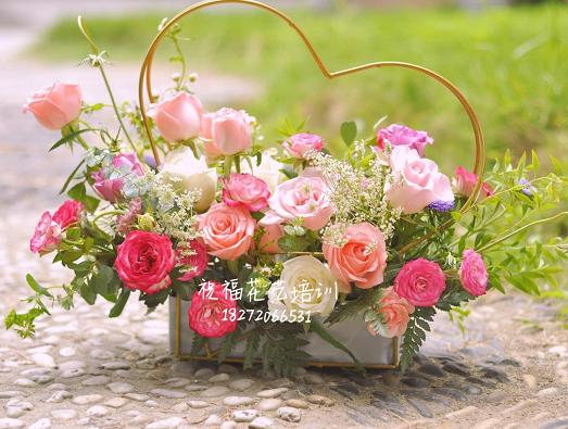 学习花艺插花