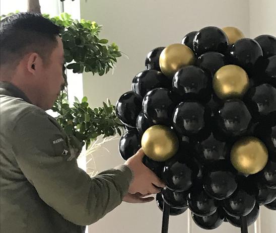 气球培训制作