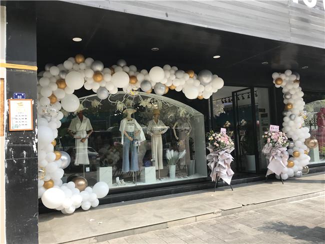 门店气球装饰