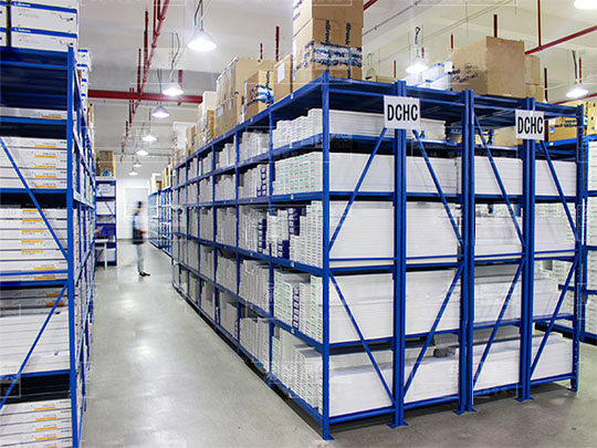 层板式仓储货架