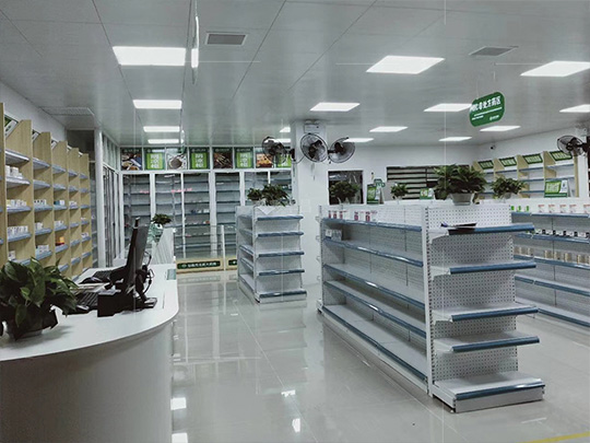 昆明多规格药店货架