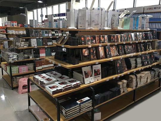 图书馆钢木货架